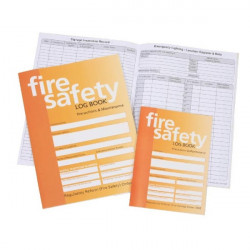 Fire Safety Log Book A5-20