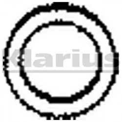 Exhaust Pipe Gasket KLARIUS HAG2-20
