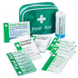Travel First Aid Kit in Nylon Case 1 Person-20