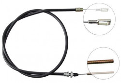 Front Overrun Brake Bowden Cable A.B.S. K41250-20