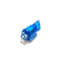 LED Bulb 12V W2.1X9.5D 4-LED Green-20