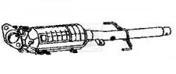 Diesel Particulate Filter (DPF) NPS M435A01-20