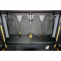 Truck Seat Cover Rear Black Isringhausen 6860/875 Truck-20