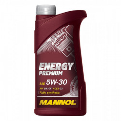 1 Litre MANNOL Energy Premium 5W-30 Fully Synthetic Car Engine Oil MN7908-1-21