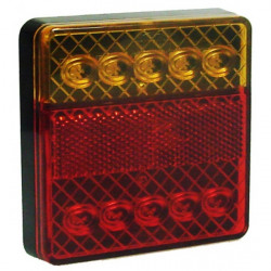 12V LED Rear Square Combination Lamp-20