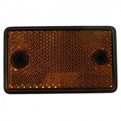 Reflectors Oblong Amber-20