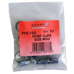 Hose Clips M/S MOO 11-16mm Pack of 10-20