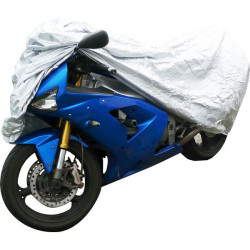 Water Resistant Motorcycle Cover Small-20