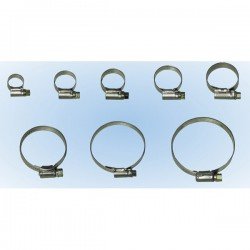 Hose Clips S/S 1/1X 25-40mm Pack of 2-20