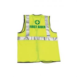 Hi-Vis First Aider Waistcoat L/XL-20