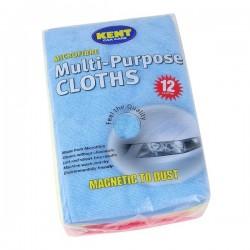 Microfibre Multi Purpose Cloths Pack Of 12-20