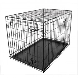 Fold Flat Metal Crate Large-20