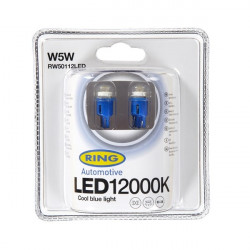 LED Bulb 12V W5W 12000K-LED Blue-20