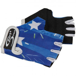 Junior Cycle Track Mitts Blue Extra Small-20