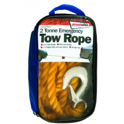 Tow Rope (Braided) Yellow 2 Tonne-20