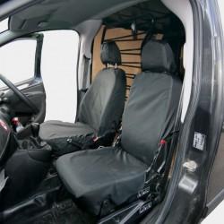 Van Seat Cover Front Single Black Fiorino, Nemo, Bipper, Doblo and Combo-20