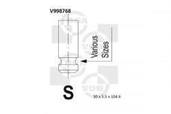 Outlet valve BGA V998768-20