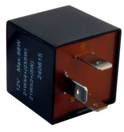 Flasher Relay 12V 89A 3-Pin Plug Type-21