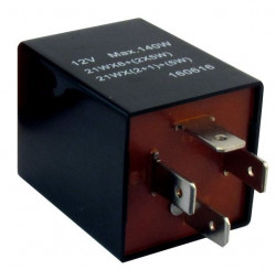 Flasher Relay 12V 126A 4-Pin Plug Type-21