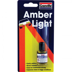 Headlight Lacquer Amber 9ml-10