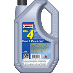 Granville DOT 4 Synthetic Brake and Clutch Fluid 5 Litre-10