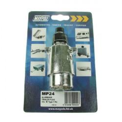 Plug Aluminium 12N 7-Pin-10