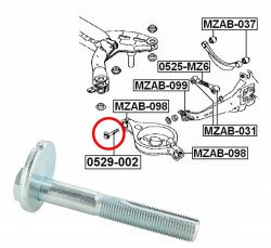 Camber Correction Screw for Mazda 6, CX-5, MX-5, RX 7-11