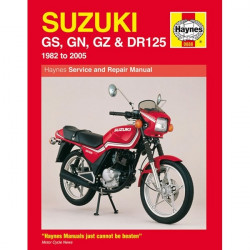 Motorcycle Manual Suzuki GS, GN, GZ and DR125 Singles (1982-2005)-10