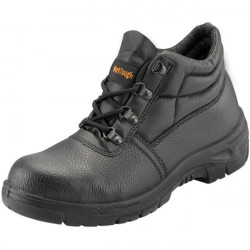 Safety Chukka Boots Black UK 14-10