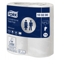 2 Ply Advanced Toilet Rolls White 36 Rolls of 200 Sheets-10