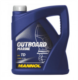 MANNOL Outboard Marine Two-Stroke Outboard Engine Oil (1 Litre, 4 Litres)-11