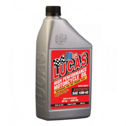 SAE 10W40 Fully Synthetic Motorcycle Oil with Moly 946ml-10