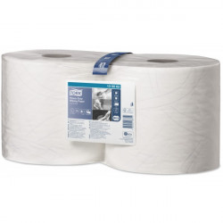 2 Ply Premium Heavy Duty Wiping Paper White 2 x 170m Combi Rolls-10