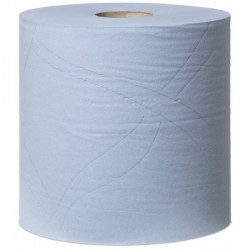2 Ply Premium Heavy Duty Wiping Paper Blue 170m Combi Roll-10