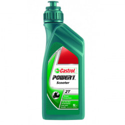 Castrol Power 1 Scooter 2T 2 Stroke Semi Synthetic 1 Litre (Scooter)-10