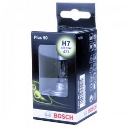 Headlamp Halogen H7 12V 55W PX26d Plus 90-10