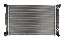 Radiator, engine cooling for Audi A4, A6, Seat Exeo DENSO DRM02033-11