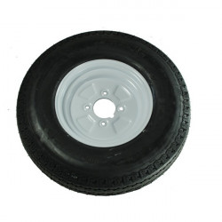 Trailer Wheel and Tyre 145mm x 10in.-10