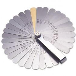 Feeler Gauge AF/mm 32 Blades and Brass-10