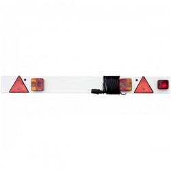 Trailer Lighting Board inc Fog 24V 6m Cable (Plus Fog) 4 6in./1.37m-10