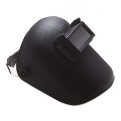 Flip-Up Welding Head Mask Black-10