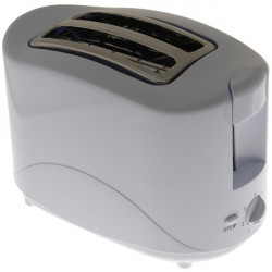 2 Slice Toaster White 750W-10