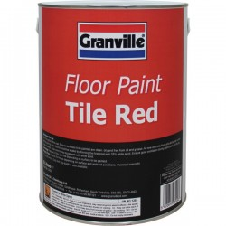Tile Red Floor Paint 5 litre-10