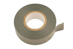 PVC Insulation Tape White 19mm x 20m Pack Of 10-11