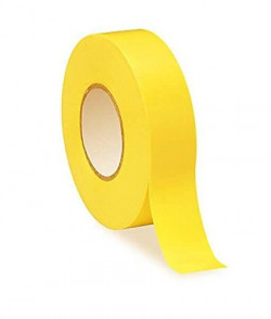 PVC Insulation Tape Yellow 19mm x 20m Pack Of 10-11