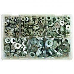 Zinc Plated Washers Table 3 Flat Assorted Box Qty 800-10