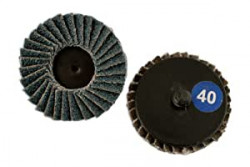 Quick Lock Flap Discs P40 50mm Pack Of 5-11