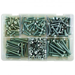 Set Screws and Nuts M6 Assorted Box Qty 295-10
