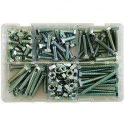 Set Screws and Nuts M8 Assorted Box Qty 154-10