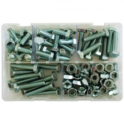 Set Screws and Nuts M10 Assorted Box Qty 88-10
